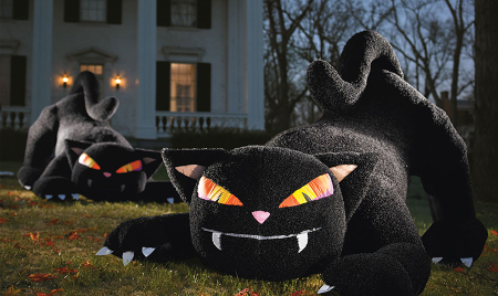 7 Best Inflatable Halloween Cats For Yard Decoration